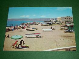 Cartolina S. Severa - Spiaggia 1972 - Roma