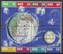 Allemagne DE L'EST N° 638 à 645 Oblitérés De 1962 Cosmo RDA DDR - Used Stamps