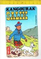 34500 -  Kangourak Salik - Tintin Et Milou - Kuifje En Bobbie - Stickers