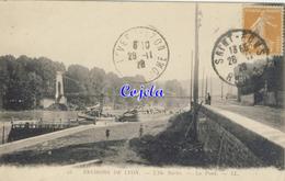 69 - Environs De Lyon - L'Ile Barbe - Le Pont - 1928 - France