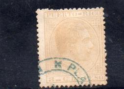 PUERTO RICO 1882-4 O - Puerto Rico
