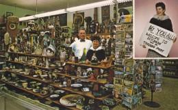 Ketchikan Alaska, Ketchikan Trading Post Tourist Business Gift Shop, Postcards, C1960s Vintage Postcard - Estados Unidos