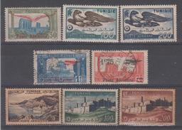 TUNISIE - PA2 + 14/15** Et * + PA 3/4 + 18 + 20/21 Obli Cote 35,50 Euros Depart A 10% - Luchtpost
