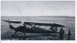 Foto Fieseler Storch - 2. WK - 9*5cm - Repro (29187) - Repro's