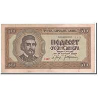 Serbie, 50 Dinara, 1942, KM:29, 1942-05-01, TTB - Serbie