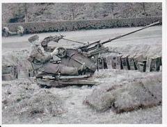 Foto Deutscher Soldat Mit Flak - 2. WK - 9*7cm - Repro (29190) - Repro's