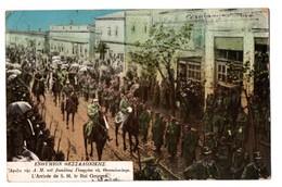 Grèce . Salonique . L'Arrivée Le Roi Georges - Réf. N°3160 - - Greece