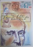 Carte Postale - FDC - Mathématicien - Cauchy - 1989 - YT 2610 - H Sainson - Maximum Cards