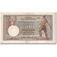 Serbie, 500 Dinara, 1942, KM:31, 1942-05-01, TTB+ - Serbie
