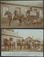Militaira, Beverloo Het Kamp, 2 Fotokaar - Postcards