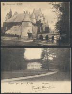 Kastelen, Alle Provincie Brabant (8 Stuk - Postcards
