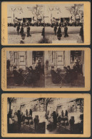 Stereo Kaarten Te Luik, De Jaarmarkt, Ka - Old Paper