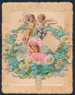 Souvenirkaarten, W.o. 3 Stuks Met Opbouw - Old Paper