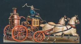 Poësieprentjes Vd Brandweerwagen, Grootf - Old Paper