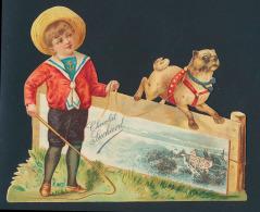 Poësieprentjes Van Chocolademerken, Such - Old Paper