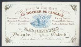 Oostende, Restaurant 'Au Rocher De Canca - Unclassified