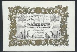 Brussel, De Smid 'Lambour' (1 Stuk) - Postcards