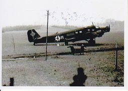 Foto Deutsche Luftwaffe - Ju52 - 2. WK - 9*6cm - Repro (29210) - Repro's