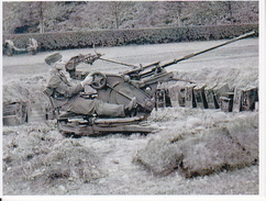 Foto Deutscher Soldat Mit Flak- 2. WK - 9*7cm - Repro (29212) - Repro's