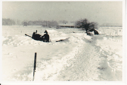 Foto Flakstellung Im Winter - 2. WK - 9*5cm - Repro (29216) - Repro's