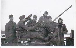 Foto Deutsche Soldaten Mit Flak - 2. WK - 9*5cm - Repro (29218) - Repro's