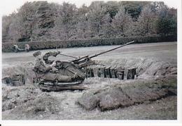 Foto Deutscher Soldat Mit Flak - 2. WK - 9*6cm - Repro (29219) - Repro's