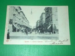 Cartolina La Spezia - Corso Cavour 1903 - La Spezia