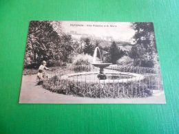 Cartolina Potenza - Villa Pubblica Di S. Maria 1910 Ca - Potenza