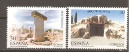 España/Spain-(MNH/**) - Edifil  3395-96 - Yvert  2981-82 - 1931-Hoy: 2ª República - ... Juan Carlos I