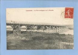 Laneuveville-devant-Nancy (54) Le Pont Stratégique Sur La Meurthe 2 Scans - Francia