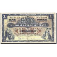 Scotland, 1 Pound, 1948, KM:322b, 1948-10-11, TB+ - Billets