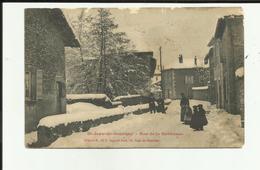 38 - Isère - Saint Jean  De Bournay - Rue De La Gervonde - Hiver - Neige - Enfants - - Saint-Jean-de-Bournay