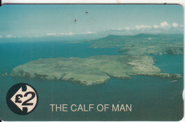 ISLE OF MAN(GPT) - The Calf Of Man, CN : 21IOMA, Tirage 5980, Mint - Isle Of Man