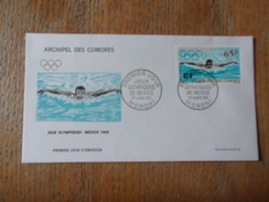 COMORES (1969) Jeux Olympiques MEXICO - Comoro Islands (1950-1975)