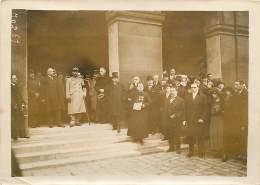 20/11/1921 PARIS LE DRAPEAU DES VOLONTAIRES HOLLANDAIS REMIS AU MUSEE DE L'ARMEE DISCOUR DU REVEREND PERE RAYMOND - War, Military