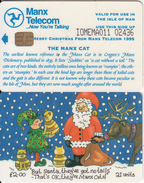 ISLE OF MAN(chip) - Christmas 1995, Tirage 5000, Mint - Isle Of Man