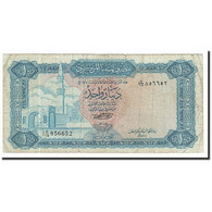 Libya, 1 Dinar, 1972, KM:35b, TB - Libye