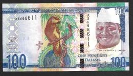 GAMBIA : 100 Delasis  - 2015 - UNC - Gambia