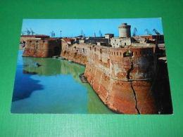 Cartolina Livorno - Fortezza Vecchia E Torre Della Contessa Matilde 1965 Ca - Livorno