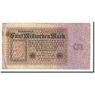 Allemagne, 5 Milliarden Mark, KM:115a, 1923-09-10, B+ - [ 3] 1918-1933 : República De Weimar