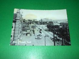 Cartolina Rimini - Piazza Tripoli 1958 - Rimini