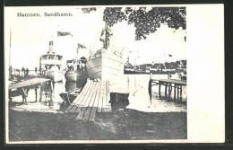 CPA Hamnen, Sandhamn, Le Portansicht - Suède