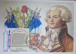 Carte Postale Maximum - Personnage - Révolution - Bicentenaire - Versailles - 1989 - YT 2602 - France