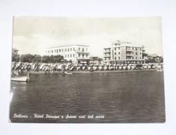 Cartolina Bellaria - Hotel Principe E Suisse 1957 - Rimini