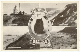 Good Luck From Cromer, 1951 Multiview Postcard - Autres