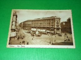 Cartolina Milano - Va Dante 1940 Ca - Milano