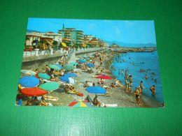 Cartolina Chiavari - La Spiaggia 1970 - Genova (Genoa)