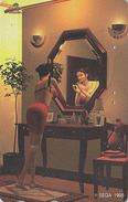Télécarte Japon / 110-011 - Jeu Video - SEGA - Femme érotique - Erotic Bikini Girl - Game Japan Phonecard / Manga - 4033 - Jeux