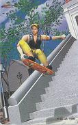 Télécarte Japon / 110-011 - Jeu Video - SEGA - SKATE BOARD - Game Japan Phonecard / Manga Telefonkarte - 4034 - Games