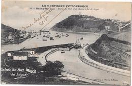SAINT BRIEUC - 22 - Entrée Du Port Et Du Bassin à Flot Du Légué - ORL - - Saint-Brieuc